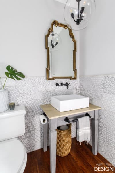 Build a Heavy Duty Bathroom Vanity or Table