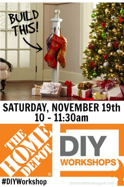 DIY Workshop: Holiday Stocking Post