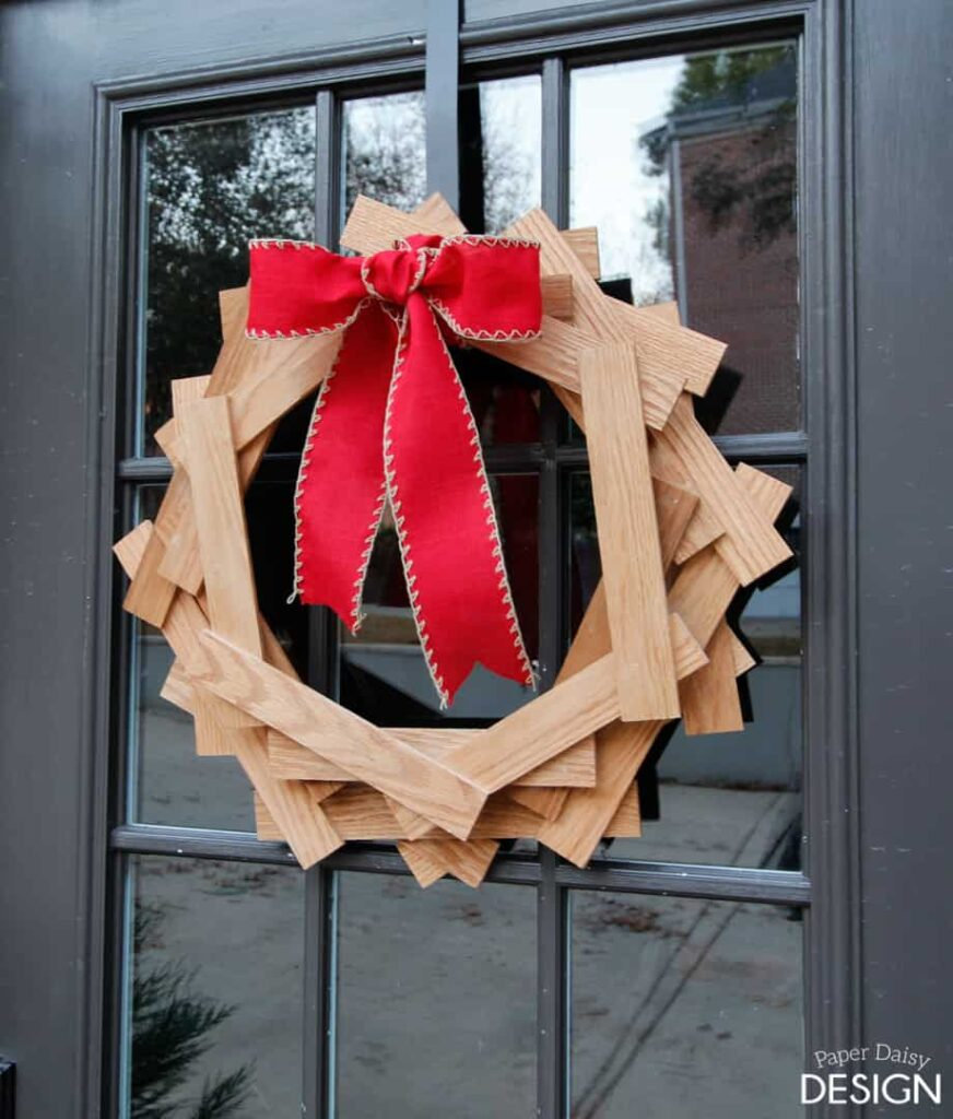 Wooden Hexagon Wreath & Ryobi Tools Giveaway
