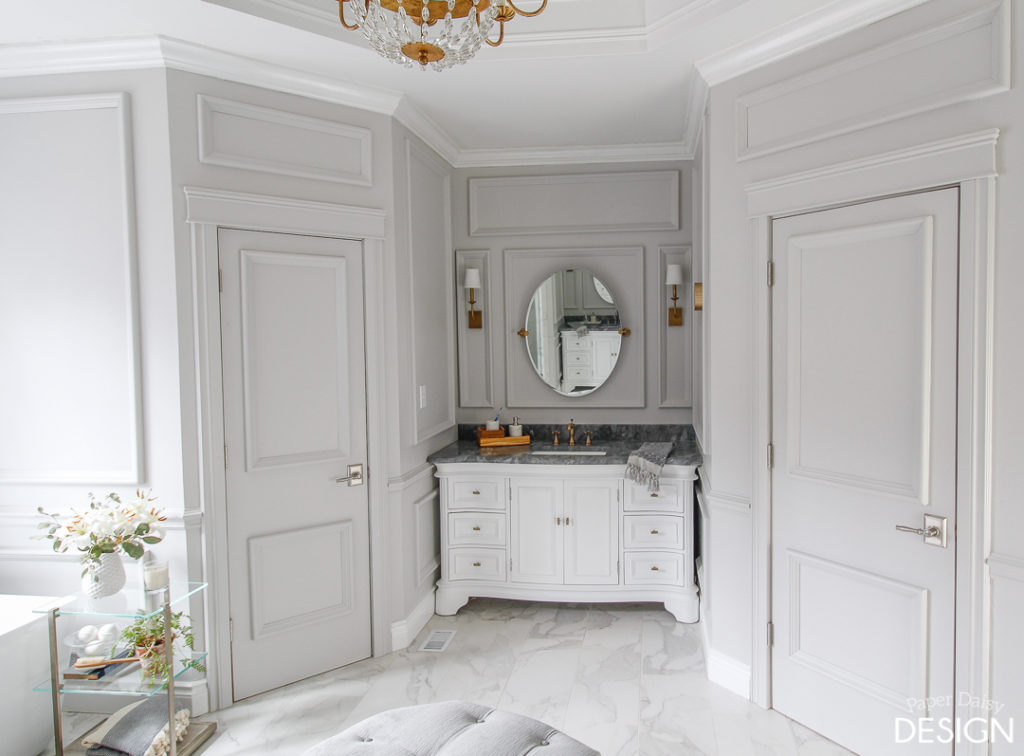 """Living in the new """"Opulent Master Bathroom"""""""