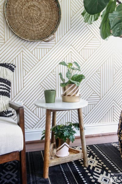 Be bold with fearless wallpaper!