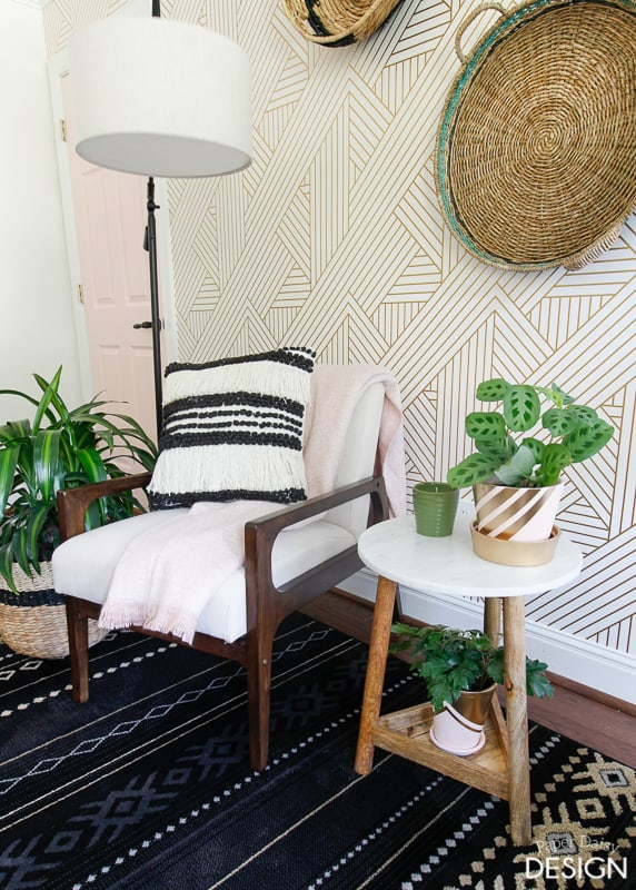 Be Bold With Fearless Wallpaper Deeplysouthernhome
