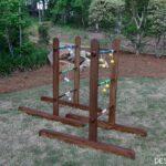 Portable DIY Wooden Ladder Golf