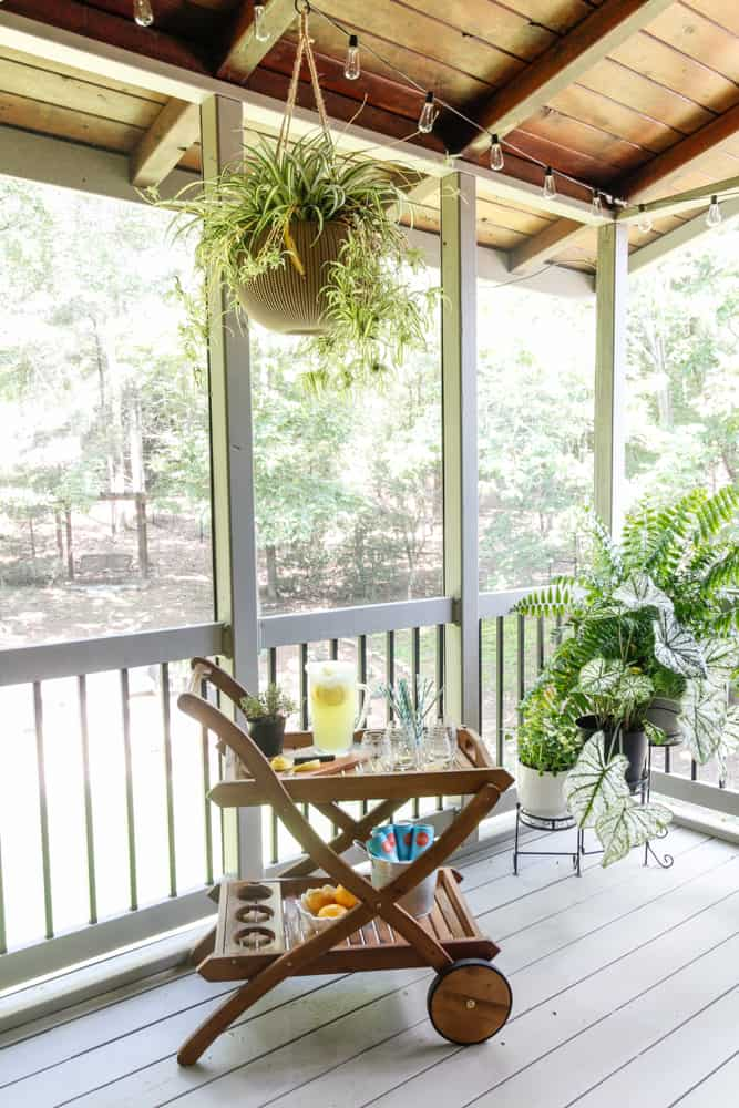 Porch barcart