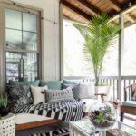 Screen Porch & Outdoor Living Room Makeover