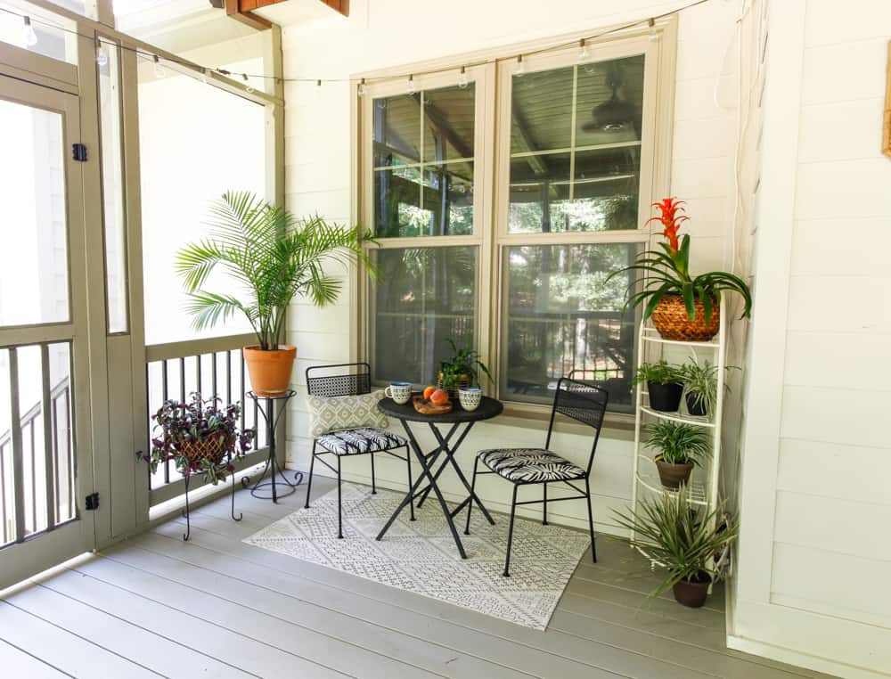 How to paint a porch