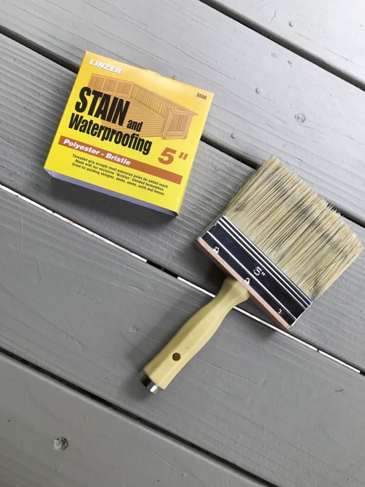 paint a porch