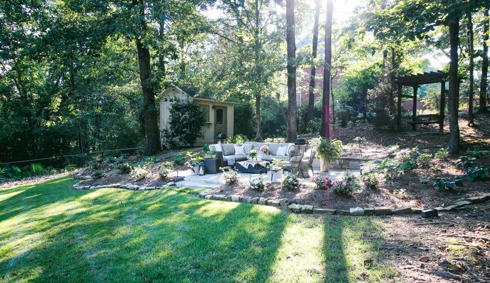 Create a Shade Garden Oasis in your Backyard - DeeplySouthernHome