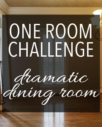 One Room Challenge Fall 2017//Week ONE, the before