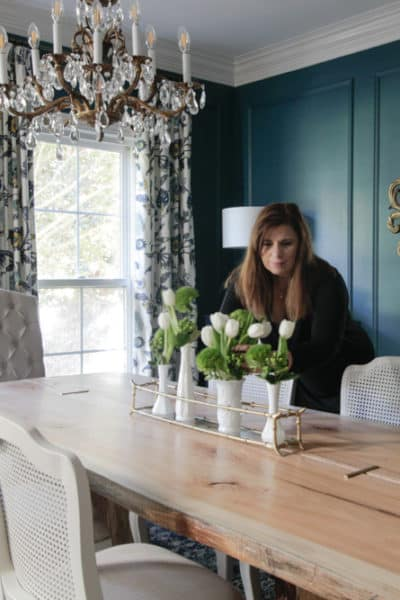 One Room Challenge Fall 2017/ Deep & Moody Dining Room