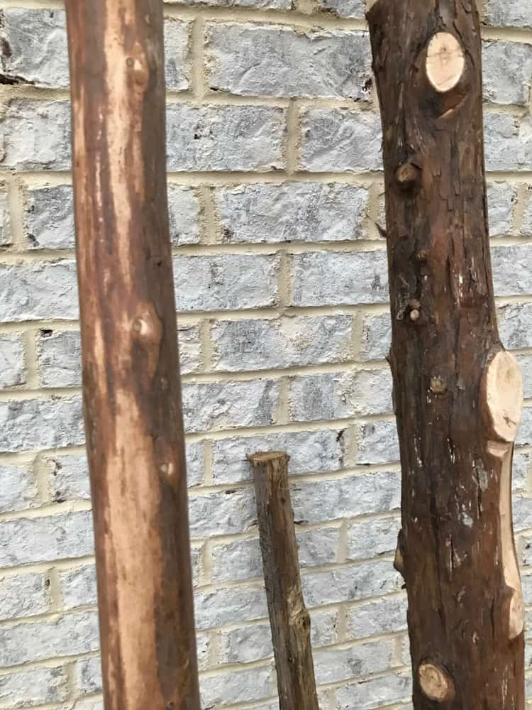 blanket ladder limbs
