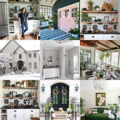 Best of 2017: Pretty Room Reveals and Practical DIY's