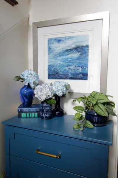 Indigo Style & a Simple Foyer Refresh
