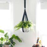 Faux Leather Plant Hanger-Budget Friendly Version