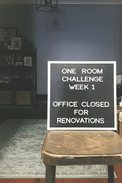 One Room Challenge Spring 2018: Week 1