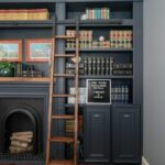 One Room Challenge Spring 2018: Library Office Reveal