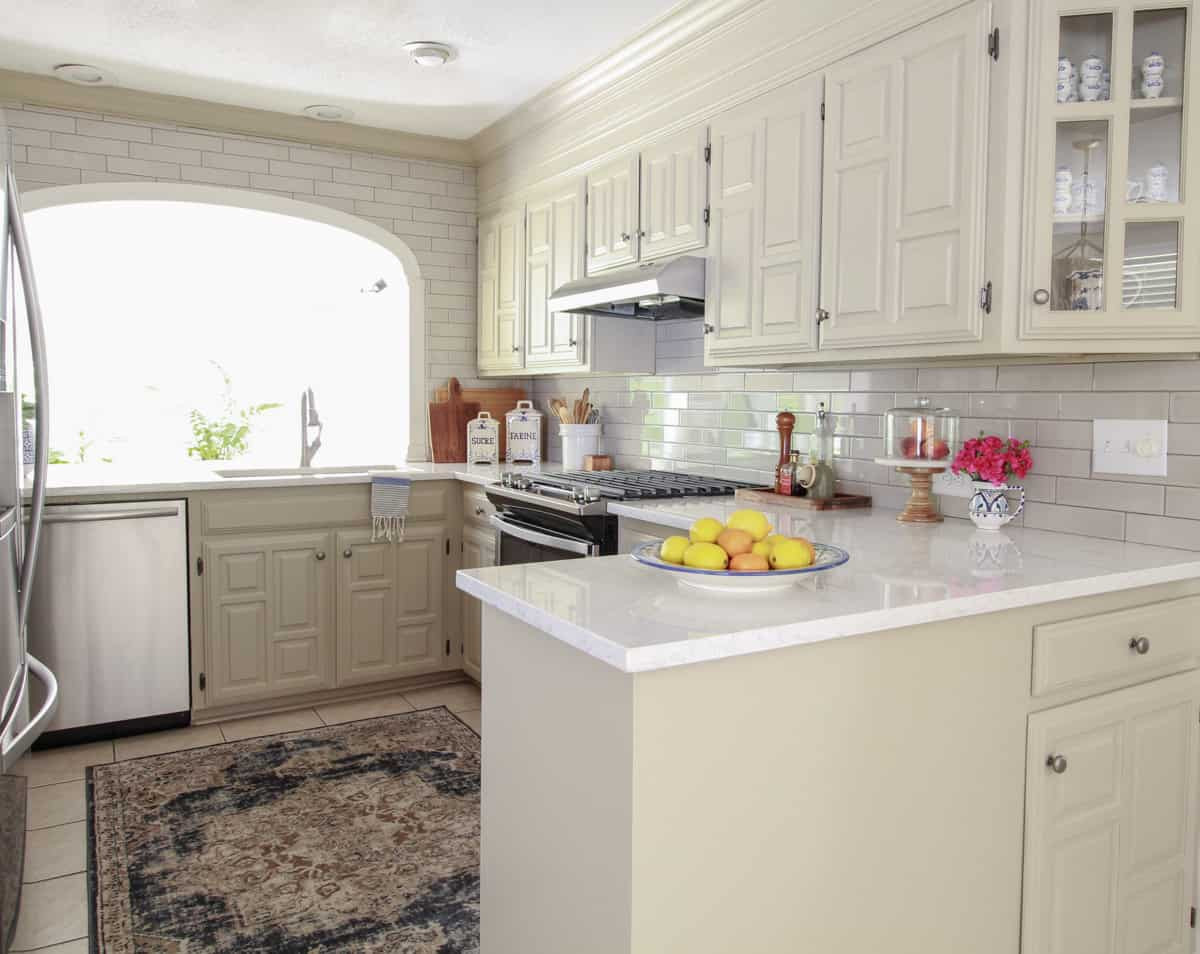 Dana\'s Greige Kitchen Update - DeeplySouthernHome