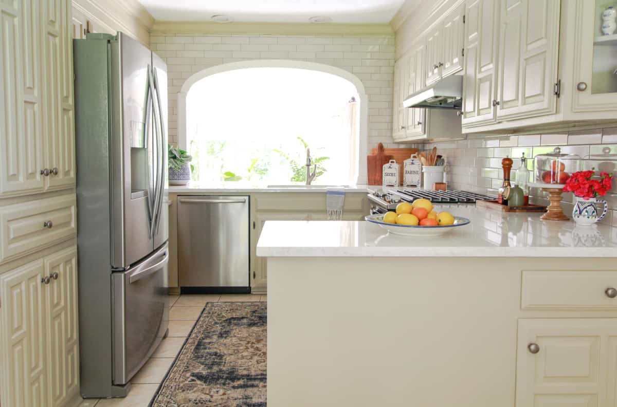 Dana's Greige Kitchen Update · DeeplySouthernHome on