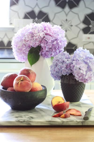 Simple Kitchen Refresh & 3 Summer Vignettes for the Kitchen