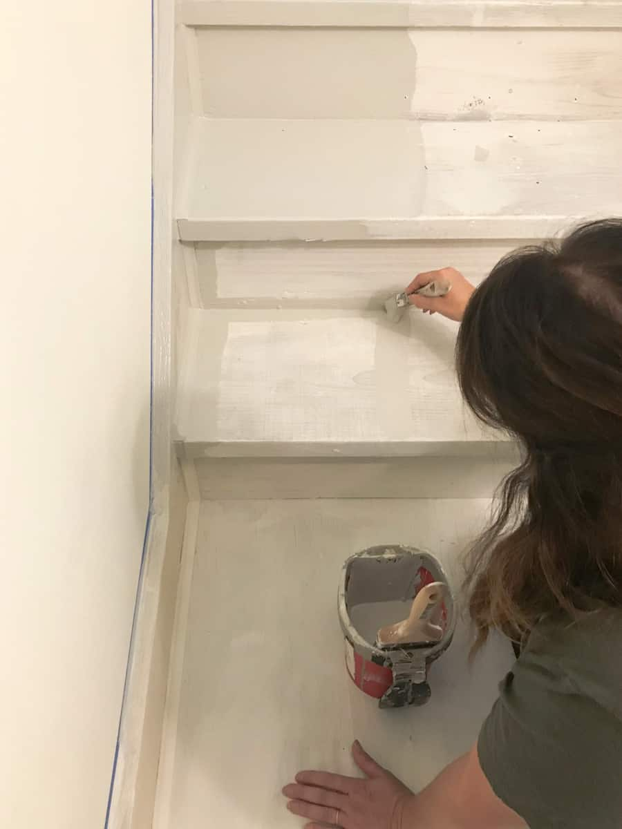 How to paint stairs after carpet