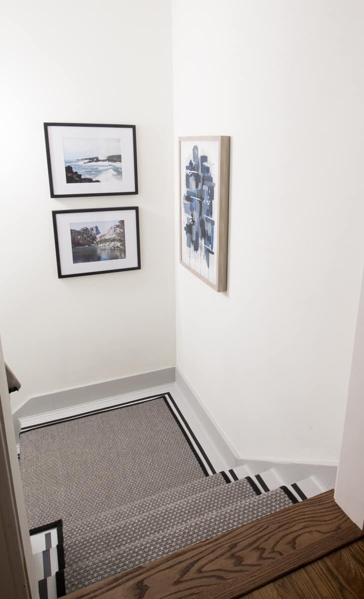 painted staircase runner ideas