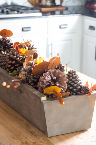 The one thing you need for a beautiful centerpiece for every season. A DIY Wooden Trough