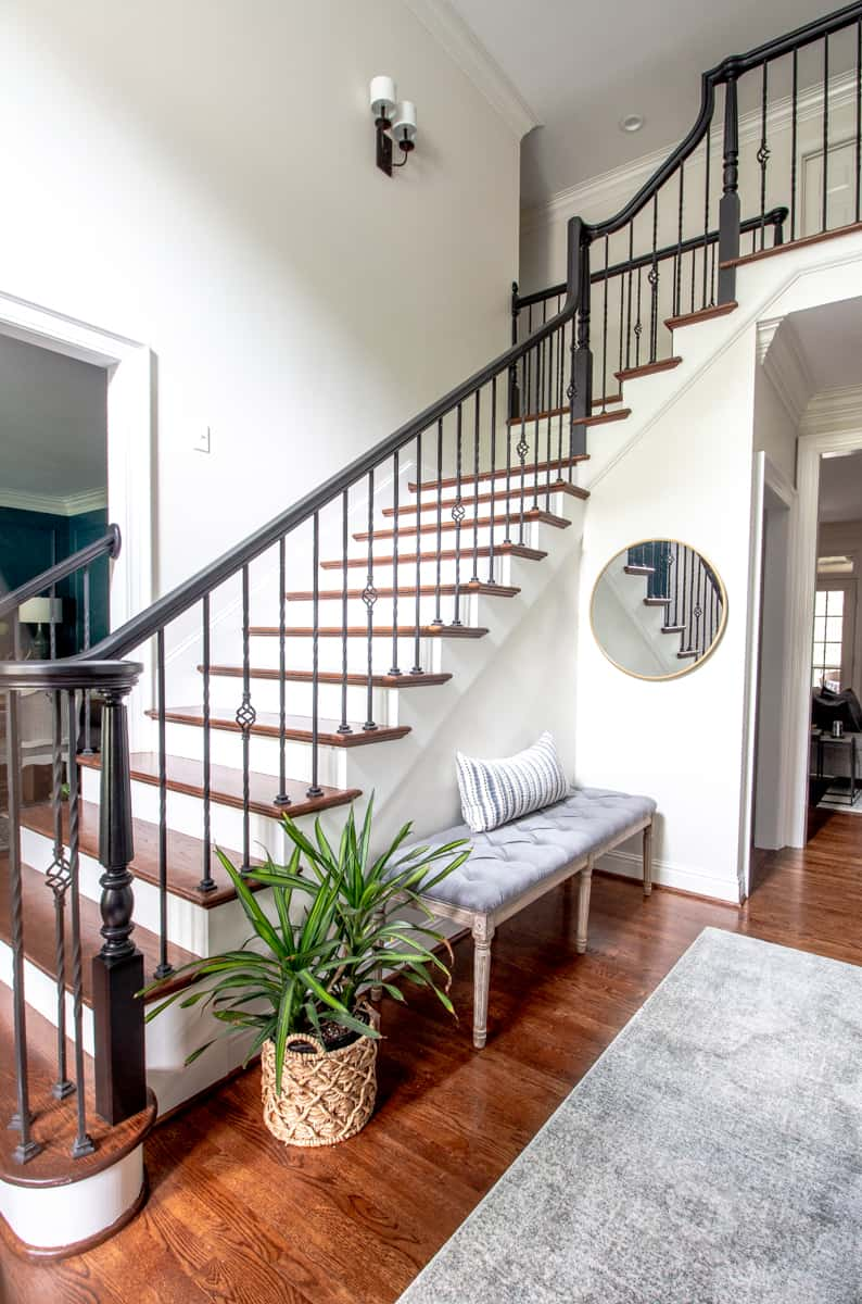 Paint Handrail, Stair Risers And Trim Perfectly Every Time!
