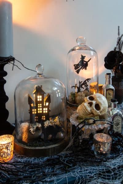 Halloween Cloche DIY