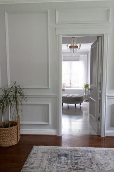 Fall One Room Challenge Week 3: Shades of Grey, Master the Finishes
