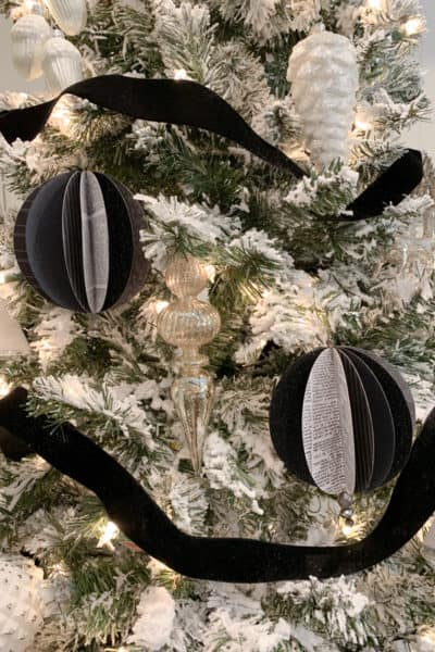 Paper Sphere Ornaments