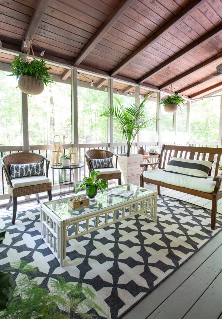 9 Essentials For A Stylish Cozy Porch Or Patio Deeply Southern Home