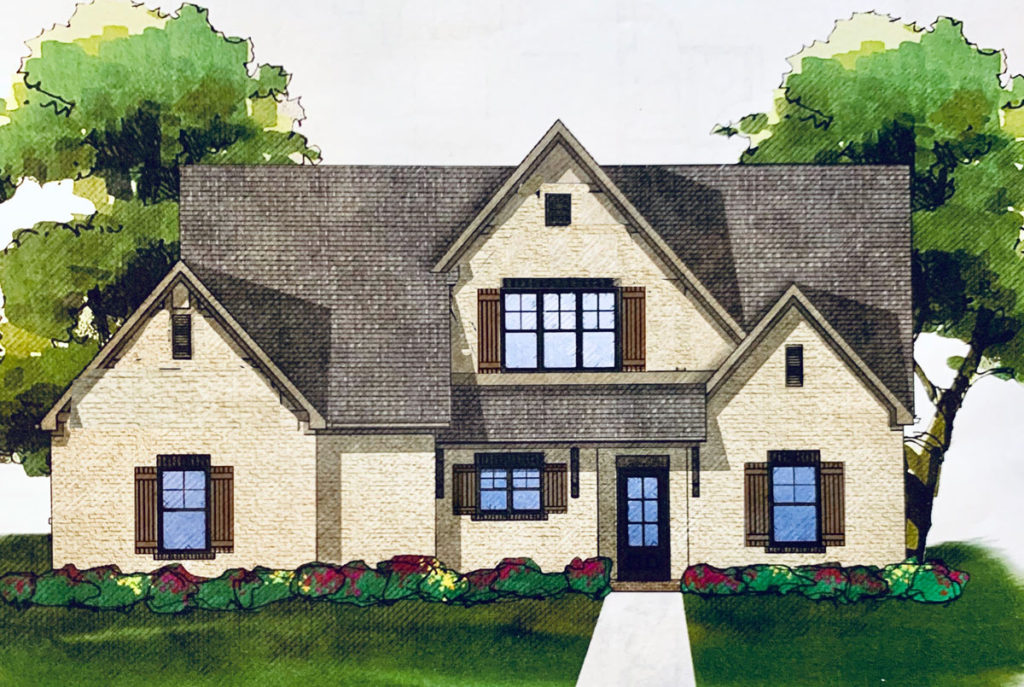 Lake Ridge House Exterior Design Plan | DeeplySouthernHome on house plans with bedrooms, house plans with garage, house plans with decks, house plans with walk-in closets, house plans with dining room, house plans with glass walls, house plans with patio doors, house plans with vaulted ceilings, house plans with luxury kitchens, house plans with fireplaces, house plans with french doors,