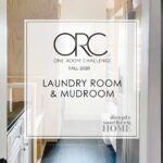 One Room Challenge Fall 2020 Week 2: The Laundry Room and Mudroom