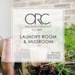 Laundry Room & Mudroom Progress, Week 4: One Room Challenge Fall 2020